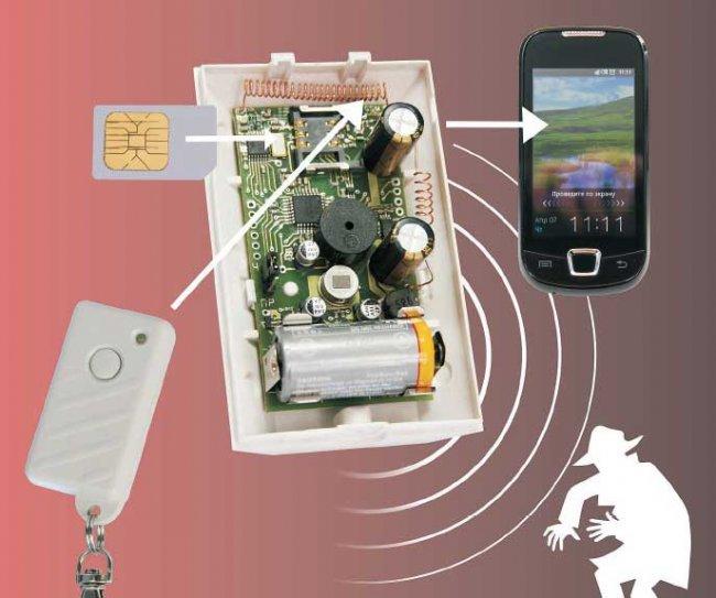 Как собрать простую охранную GSM-сигнализацию для дома?